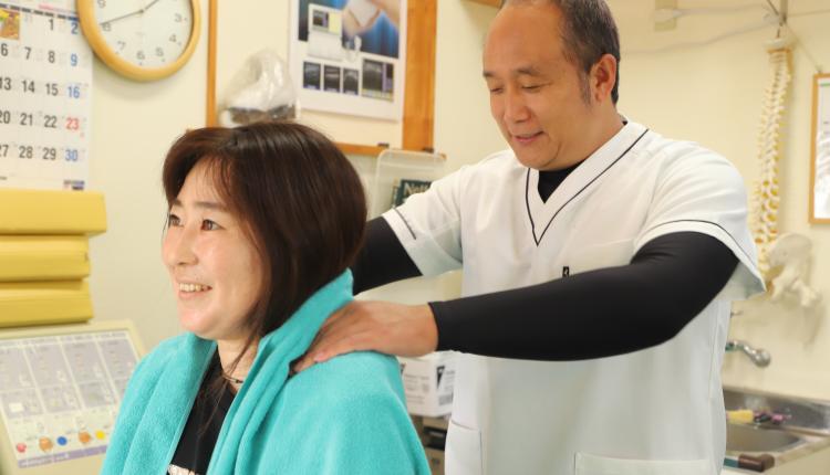 日本代表選手も施術する手技が自慢です